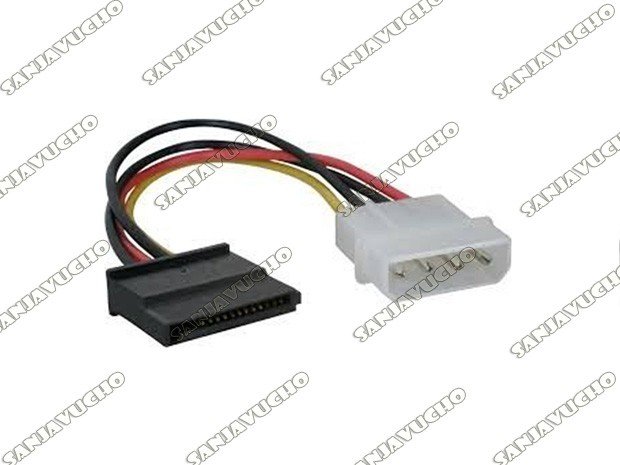 92) CABLE SATA POWER