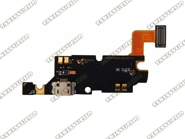 176) FLEX PIN CARGA + MICROFONO NOTE1 N7000