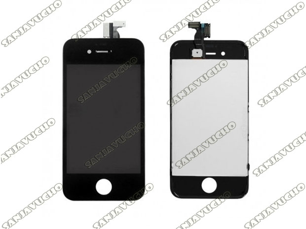 * IPHONE 4G LCD + TOUCH MODULO COMPLETO NEGRO