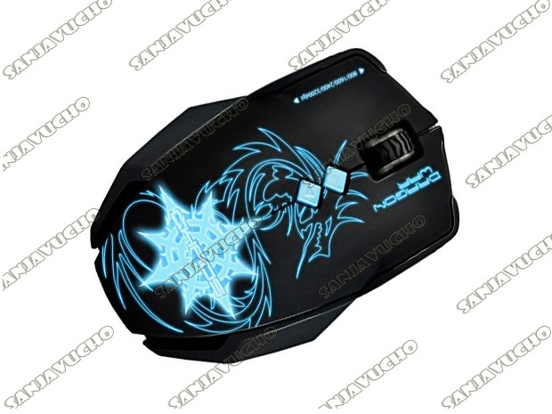 MOUSE GAMER CHAOS BLUE-SENSOR ELE-G7*