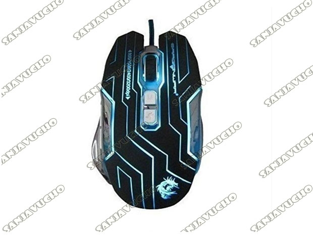 MOUSE GAMER RELOAD BLUE-SENSOR ELE-G12*