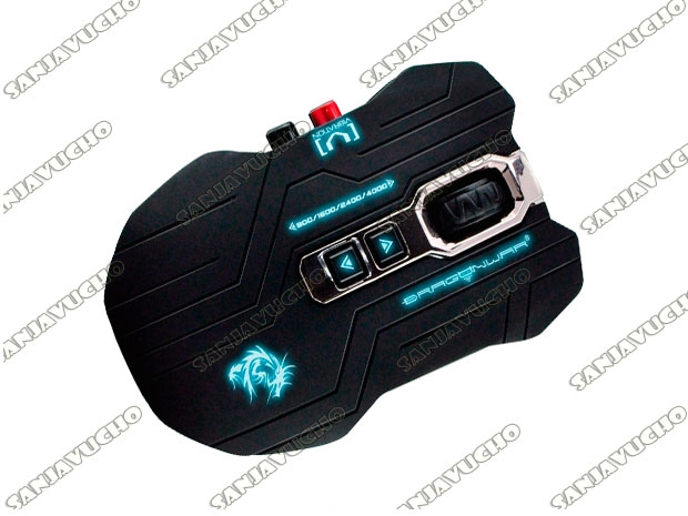 MOUSE GAMER  GAIA BLUE-SENSOR ELE-G15