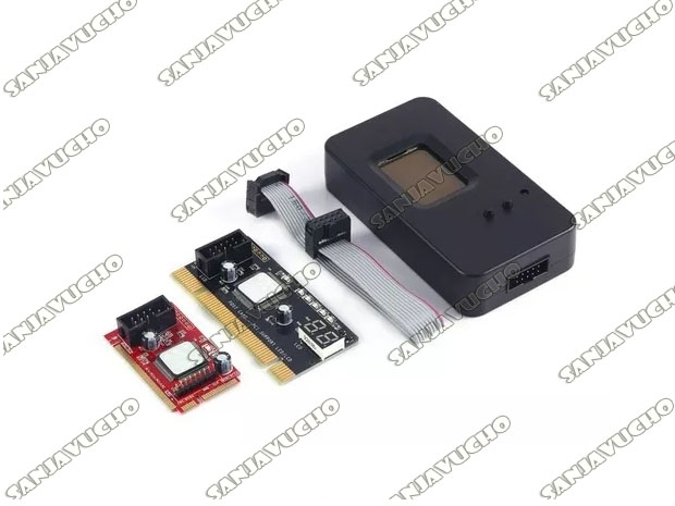 TESTER PARA MOTHER PLACA DE DIAGNOSTICO POST CARD + LC