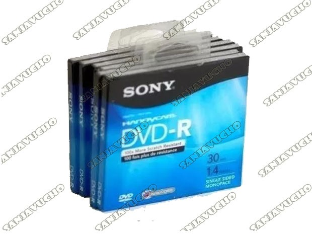 MINI DVD-R SONY HANDYCAM 30 MIN 1.4GB