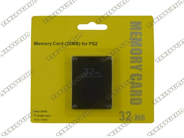 * MEMORY CARD 32 MB BLISTER CORTO SIN MARCA