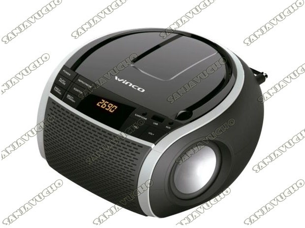 BOOMBOX REPRODUCTOR DE CD CJ1086