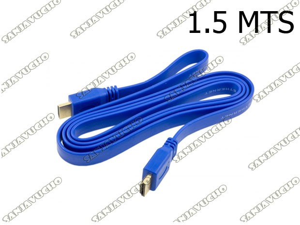 | CABLE HDMI 1,50 MTS PLANO