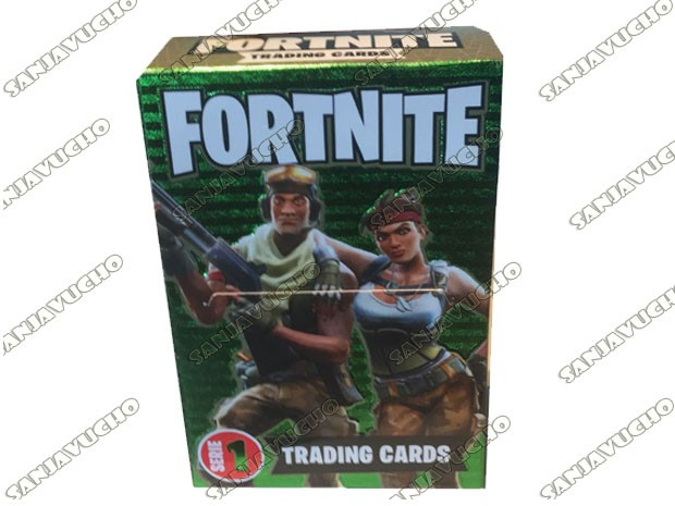 TRADIND CARDS FORTNITE SERIE 1 (PLANET GAME )