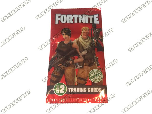 TRADIND CARDS FORTNITE SERIE 2 EXPANSION (PLANET GAME ) X 25 PAQUETES