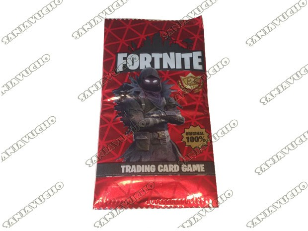 TRADIND CARDS FORTNITE SERIE ROJA EXPANSION (FLASH GONDOR) X 25 PAQUETES