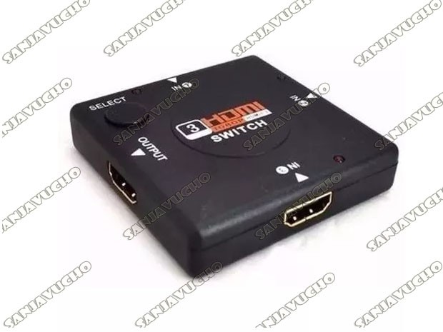 SELECTOR SWITCH HDMI 3 PUERTOS SM-F7801
