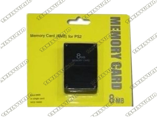 * MEMORY CARD 8 MB BLISTER CORTO SIN MARCA