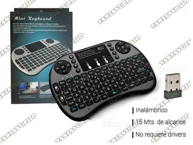 TECLADO SMART TV WIRELLES