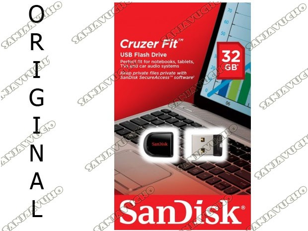 SANDISK 32 GB PENDRIVE 3.0 CRUZER FIT