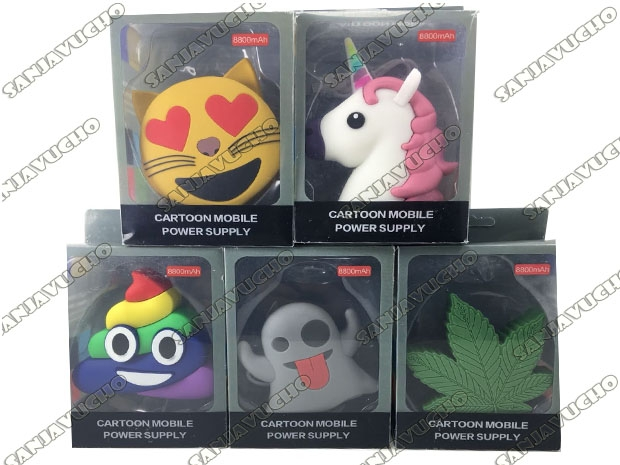 @ POWER BANK EMOTICON 8800 MHA
