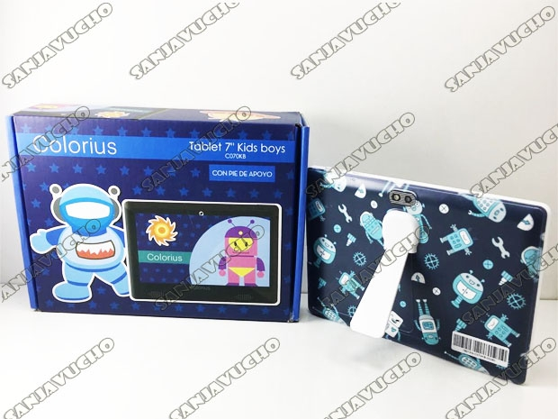 TABLET COLORIUS KIDS CON SOPORTE