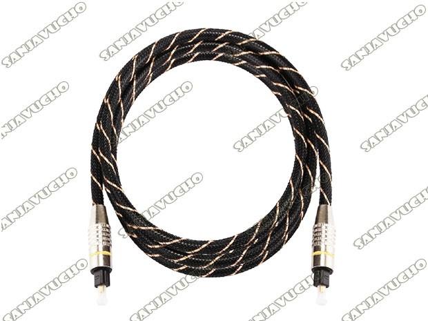 CABLE OPTICO 1.5 MTS PUNTAS METALICAS