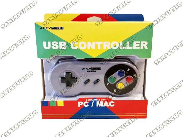 @ JOYSTICK USB RETRO SUPER NINTENDO RASPBERRY PC O MAC