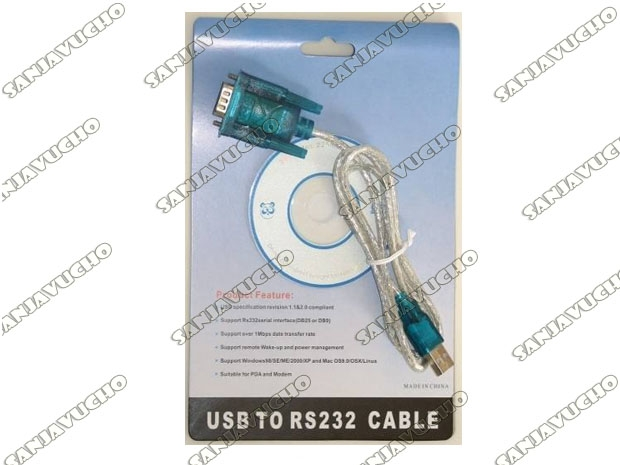 CABLE IMPRESORA SERIAL USB EN BLISTER