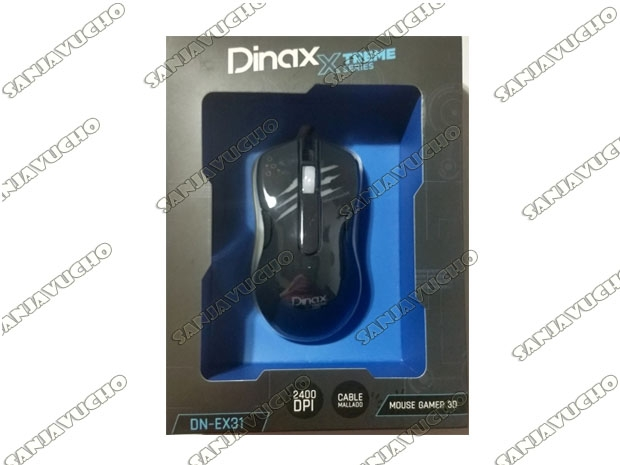 MOUSE GAMER XTREME X31 SERIES GAMING 3D LED 2400 DPI
