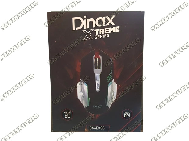 MOUSE GAMER XTREME X36 SERIES GAMING 3D LED 2400 DPI