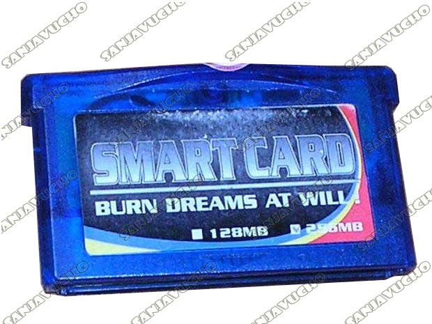 SMART CARD GBA / GBA SP VINTAGE