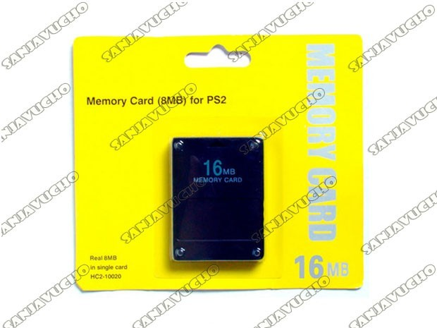 * MEMORY CARD 16 MB BLISTER CORTO SIN MARCA