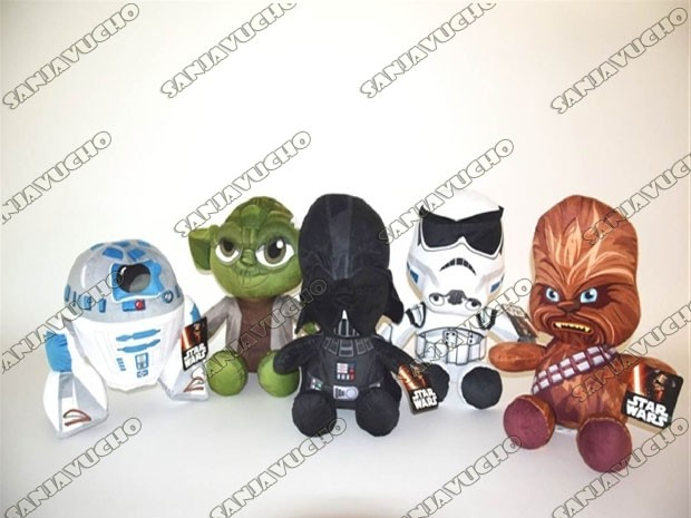 ** PELUCHE STARWARS ORIGINAL DISNEY (HOT WEEK)