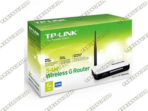 // ROUTER WIFI TP-LINK TL-WR340G (NEW)