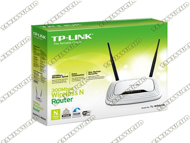 // ROUTER WIFI TP-LINK TL-WR841N (NEW)