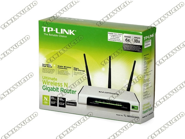 // ROUTER WIFI TP-LINK TL-1043ND (NEW)