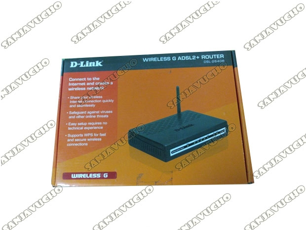 | ROUTER WIFI D-LINK DSL-264B (NEW)