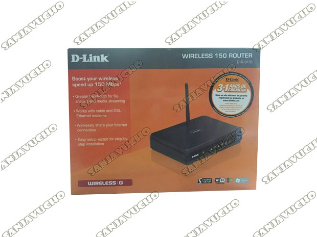 // ROUTER WIFI D-LINK DIR-600 (NEW)