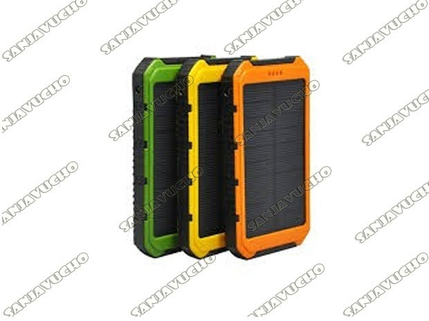 | POWER BANK 15000 MAH SOLAR + WATERPROOF ES500