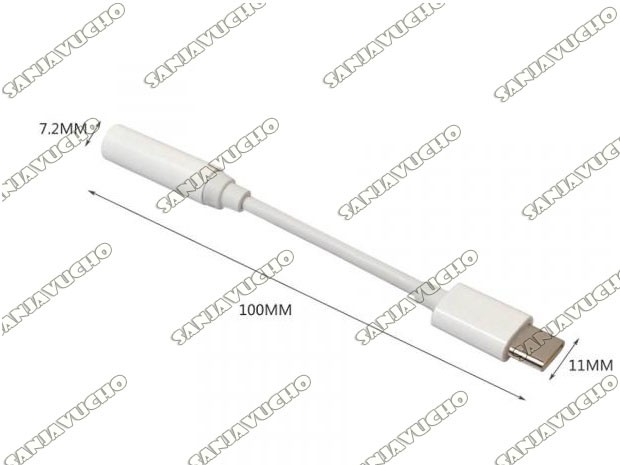 / CABLE OTG TIPO C A JACK AUDIO 3.5