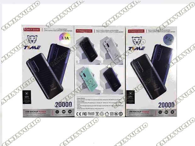 | POWER BANK 20.000 MAH CARGA RAPIDA TMPWK9306