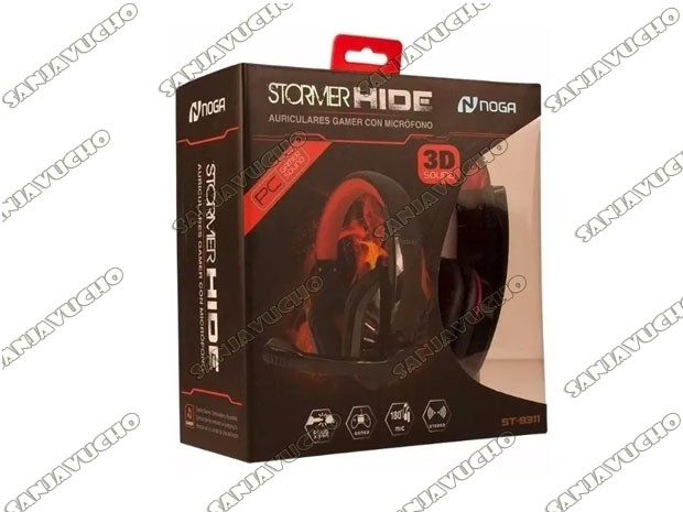 < AURICULAR PS4 / PC / XBOX ONE GAMER NOGA ST-8311 (PRE-VENTA)